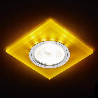 Встраиваемый светодиодный светильник Ambrella light Led S215 WH/CH/YL