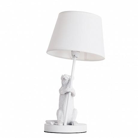 Настольная лампа Arte Lamp Gustav A4420LT-1WH