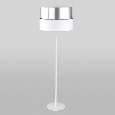 Торшер TK Lighting 5602 Hilton Silver