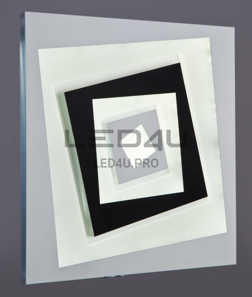 123/300 WT+BK Настенно-потолочный светильник LED