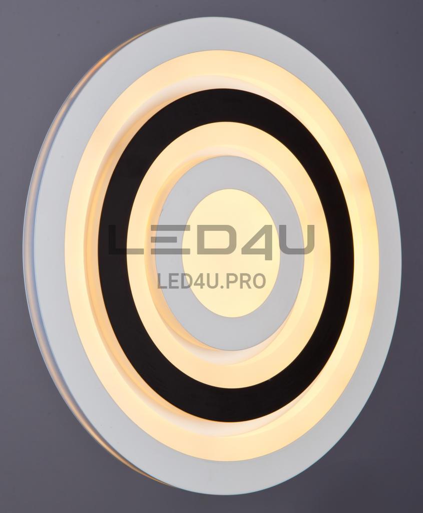 124/300 WT+BK Настенно-потолочный светильник LED