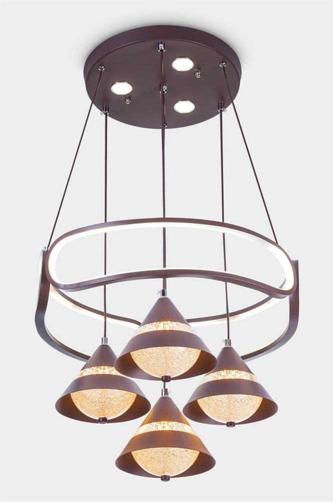 1224-4 Brown Подвесной светильник LED