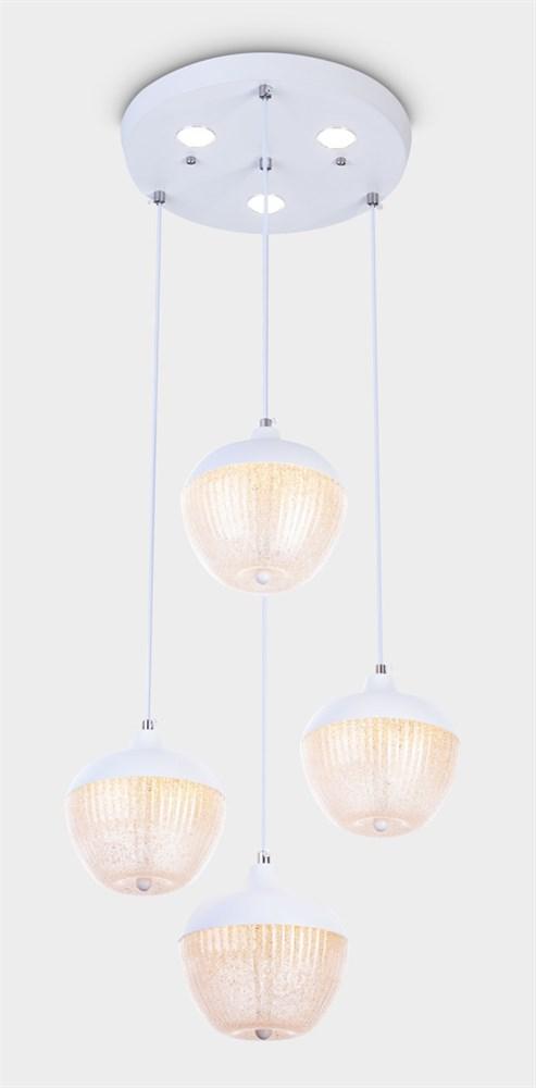 1968-3+1WH Подвесной светильник LED