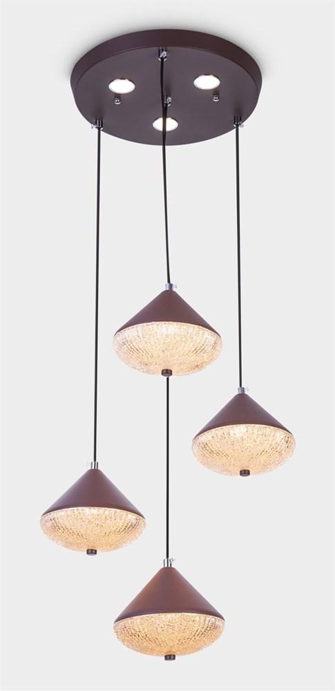 1981-3+1 coffee Подвесной светильник LED