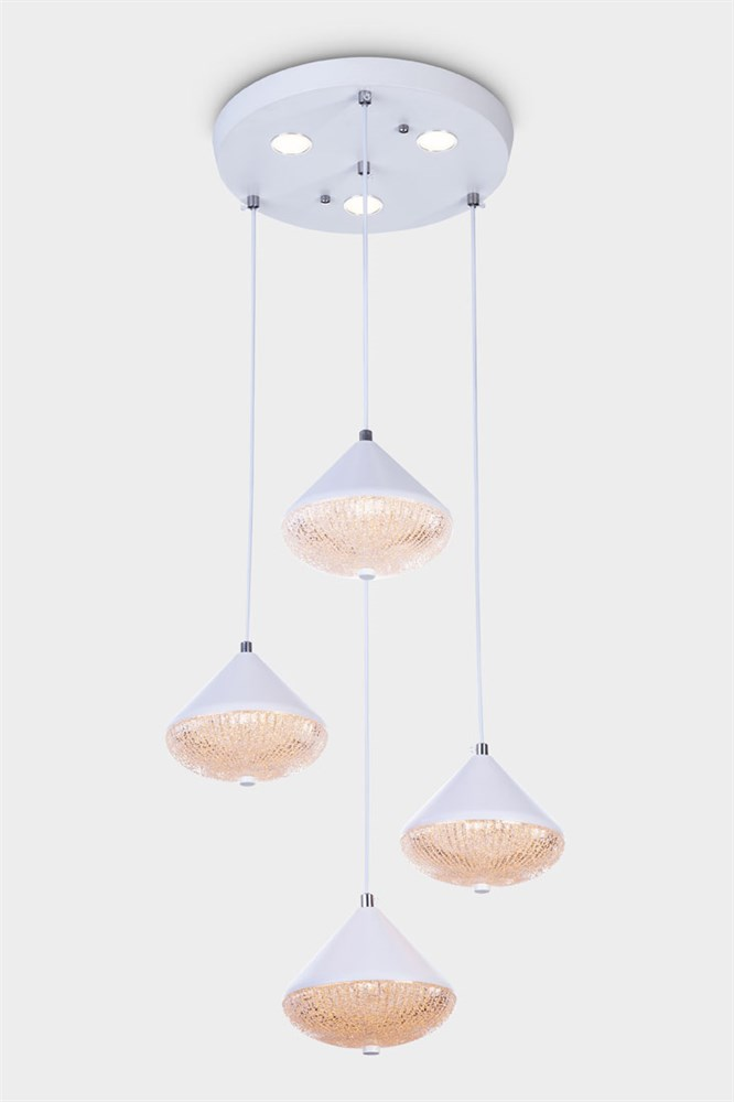 1981-3+1WH Подвесной светильник LED