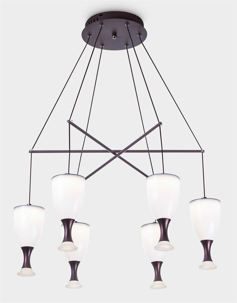 6409-6 Brown Подвесной светильник LED