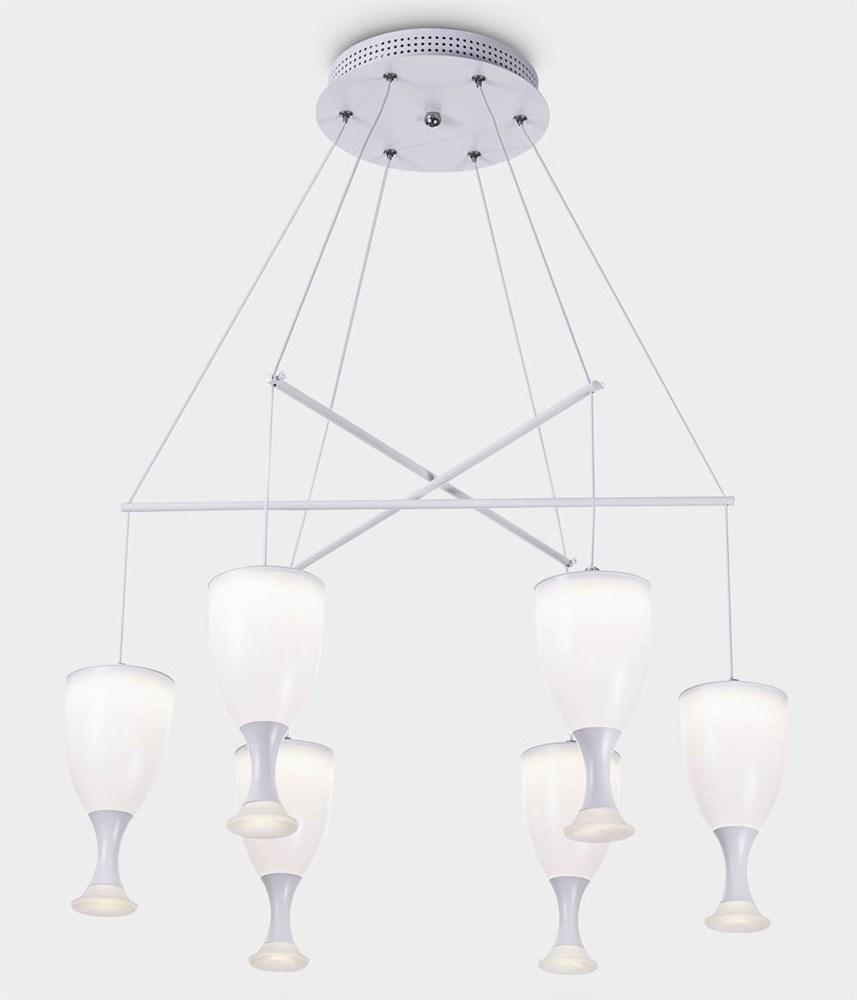 6409-6 White Подвесной светильник LED