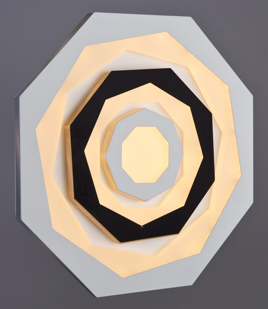 119/200 WT+BK Настенно-потолочный светильник LED
