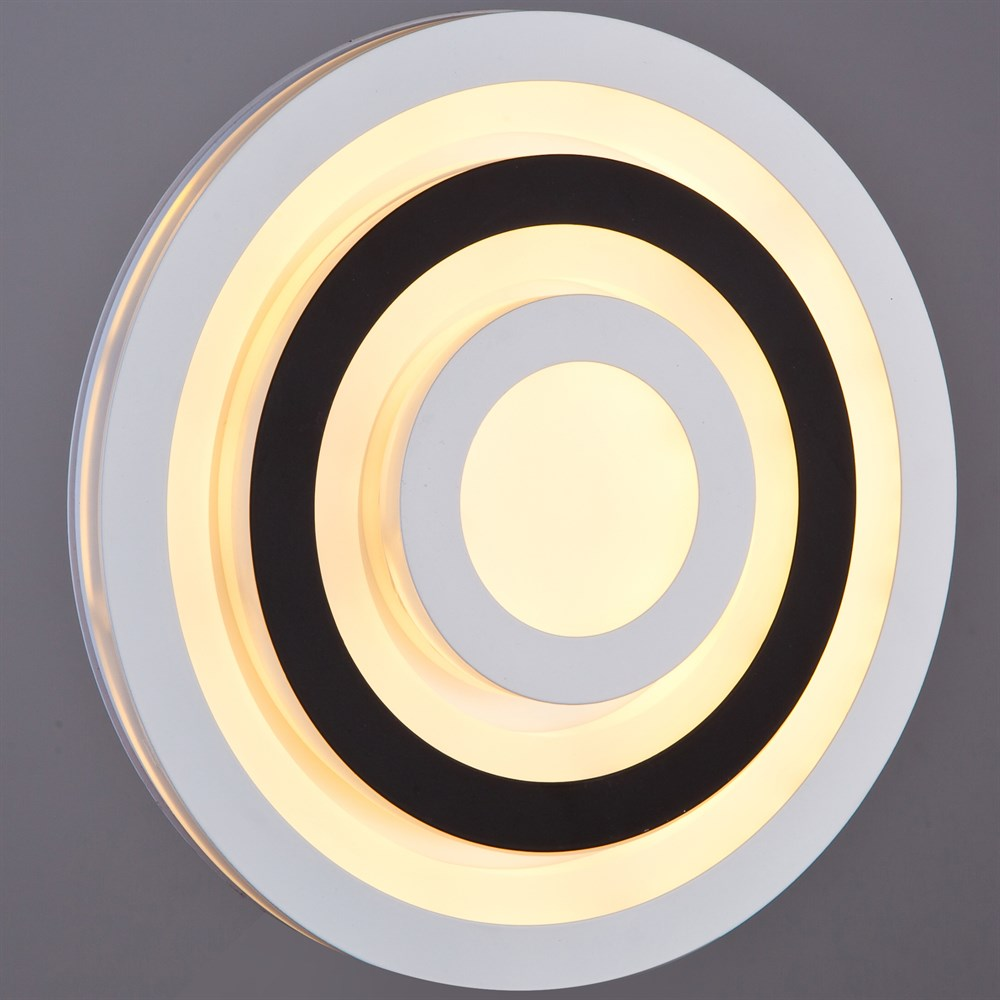 120/200 WT+BK Настенно-потолочный светильник LED