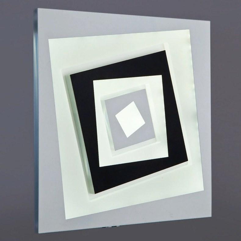 123/240 WT+BK Настенно-потолочный светильник LED