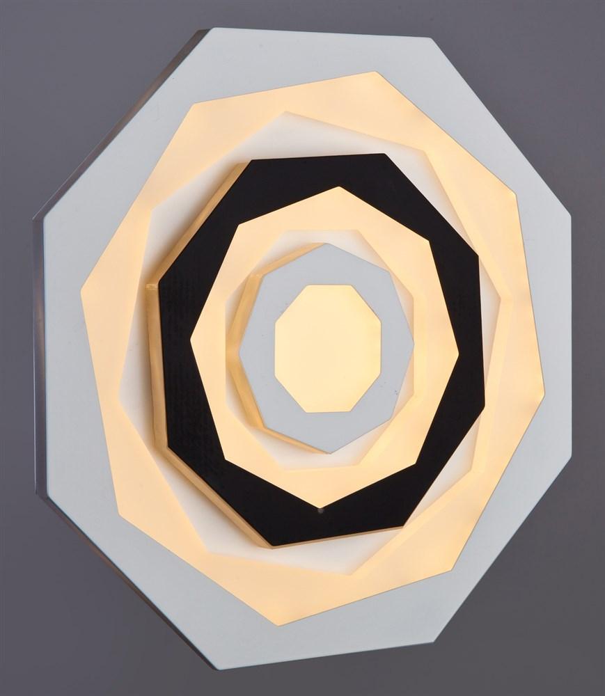 125/240 WT+BK Настенно-потолочный светильник LED