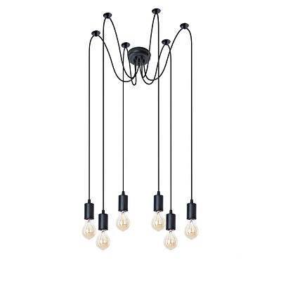 Подвесная люстра Arte Lamp Bender A4322SP-6BK