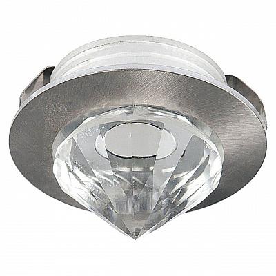 Встраиваемый светодиодный светильник Horoz Nadia 1W 2700К матовый хром 016-027-0001 (HL661L)