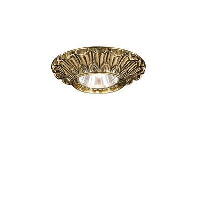 Встраиваемый светильник Reccagni Angelo SPOT 1077 oro