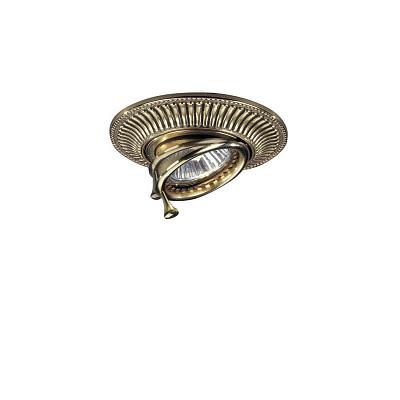 Встраиваемый светильник Reccagni Angelo SPOT 1082 oro