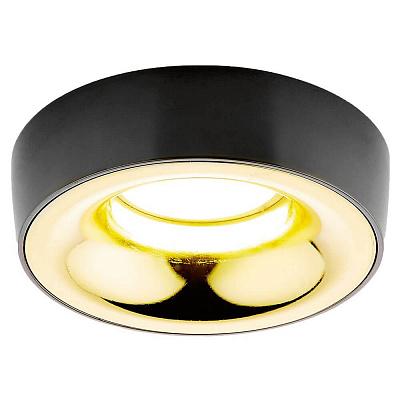Встраиваемый светильник Ambrella light Classic A890 BK/G