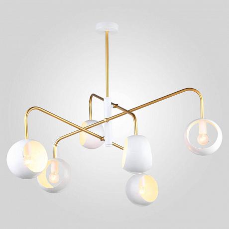 Подвесной светильник Eurosvet 70055/6 белый
