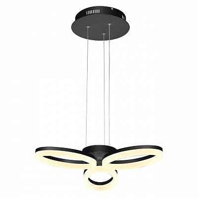 Подвесная светодиодная люстра Horoz черная 019-006-0024