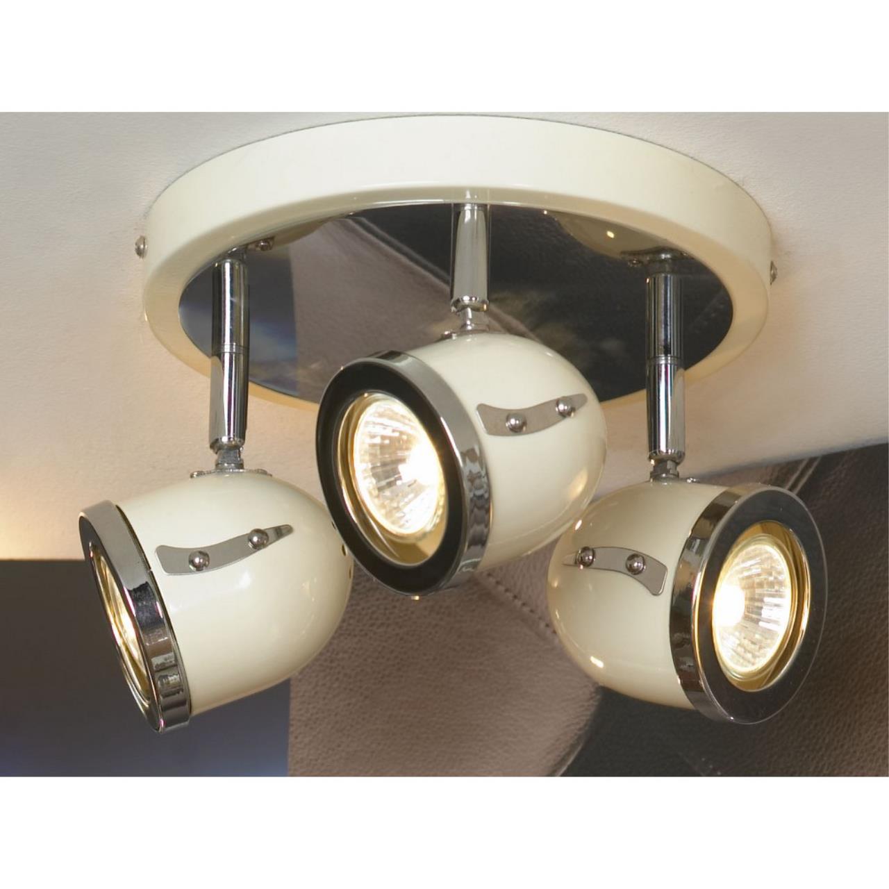 Настенно-потолочный светильник Lussole LSN-3117-03 S