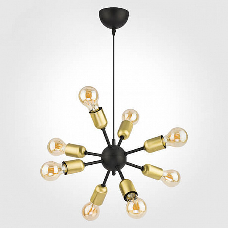 Подвесная люстра TK Lighting 1468 Estrella Black