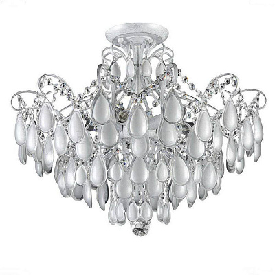 Потолочная люстра Crystal Lux Sevilia PL6 Silver