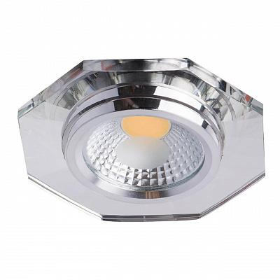 Встраиваемый светодиодный светильник De Markt Круз 10 637014401