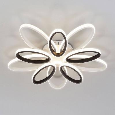 Потолочный светильник Eurosvet 90137/10 белый/чёрный