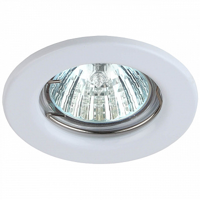 Встраиваемый светильник ЭРА Штампованный ST1 WH C0043797