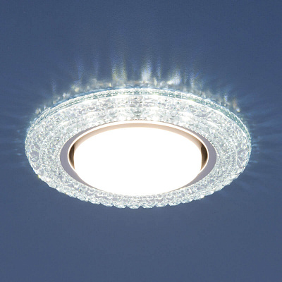 Встраиваемый светильник Elektrostandard 3030 GX53 CL прозрачный 4690389083297