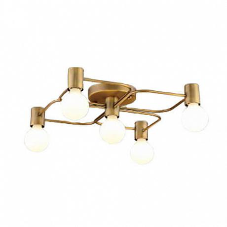Потолочная люстра Italline Vega PL 6088/5 bronze