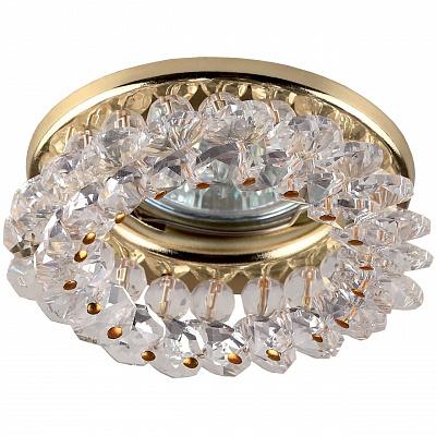 Встраиваемый светильник ЭРА Декор DK16 GD/WH C0043749