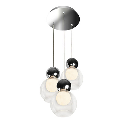 Подвесная светодиодная люстра iLedex Blossom C4476-3R CR