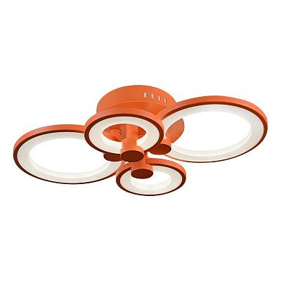 Потолочная светодиодная люстра iLedex Ring A001/4 Orange