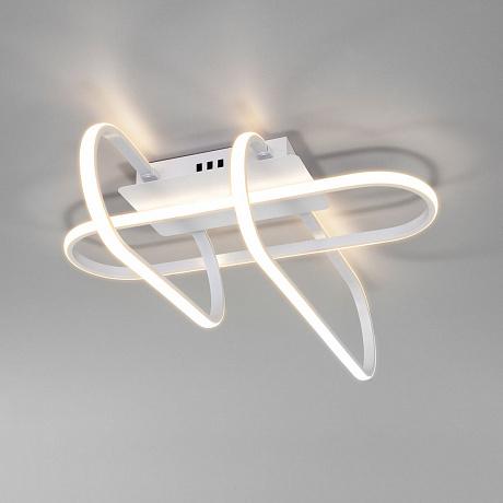 Потолочный светодиодный светильник Eurosvet Grafette 90139/3 белый