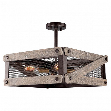 Потолочная люстра Lussole Loft Syracuse GRLSP-9704