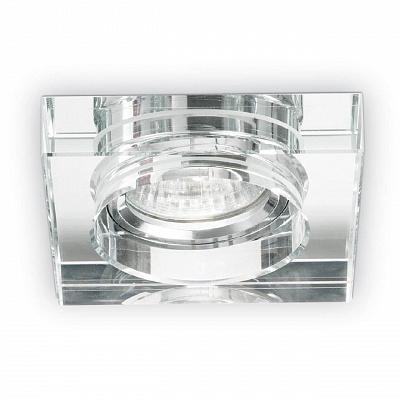 Встраиваемый светильник Ideal Lux Blues Square Trasparente