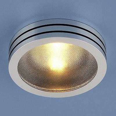 Встраиваемый светильник Elektrostandard 5153 MR16 CH/BK хром/черный 4690389014123