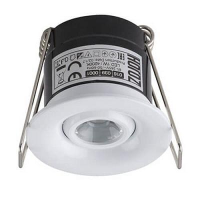 Встраиваемый светодиодный светильник Horoz Silvia 1W 4200К белый 016-039-0001