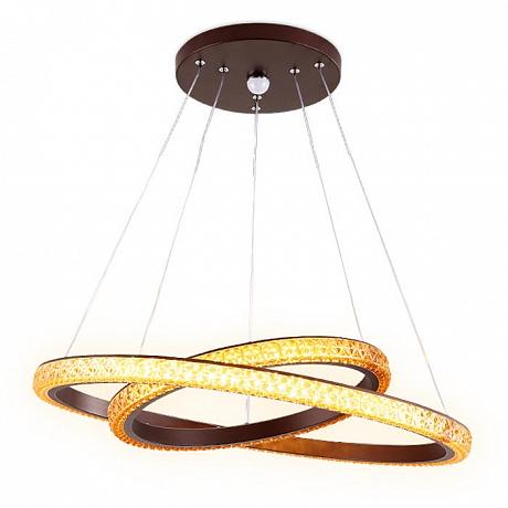 Подвесной светодиодный светильник Ambrella light Orbital Crystal FF11
