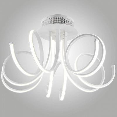 Потолочная светодиодная люстра Eurosvet Aries 90042/5 белый