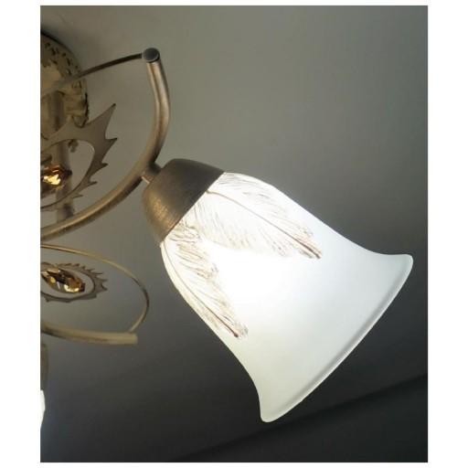 Бра настенное с плафоном LED4U 5505/1В