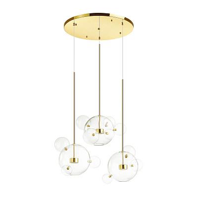 Подвесная светодиодная люстра Odeon Light Bubbles 4640/36LA
