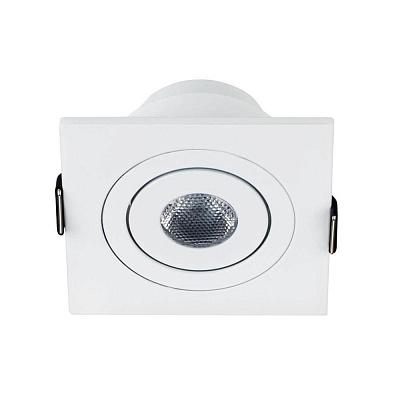 Мебельный светодиодный светильник Arlight LTM-S60x60WH 3W Warm White 30deg 015395