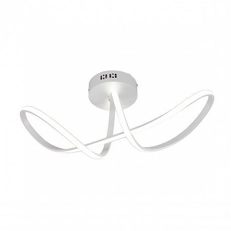 Потолочный светодиодный светильник Eurosvet Fold 90112/1 белый