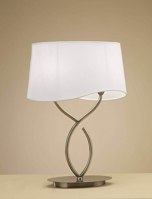 Настольная лампа Mantra Ninette Antique Bras 1926