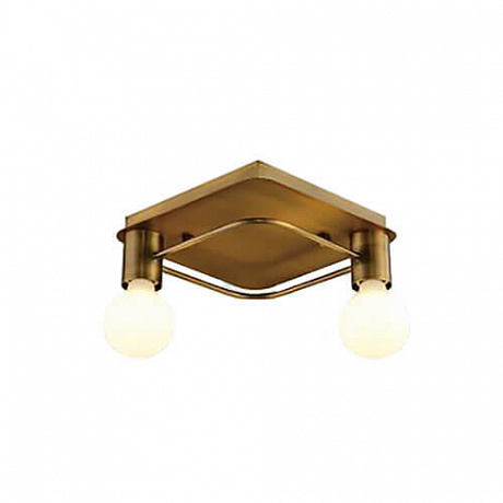 Потолочная люстра Italline Vega PL 6088/2 bronze