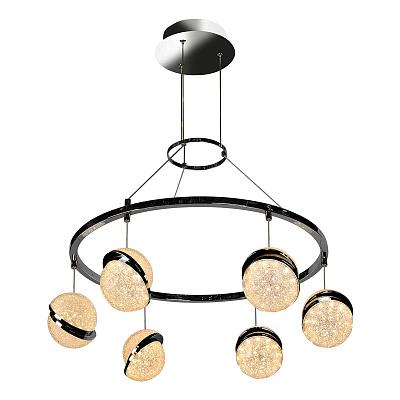 Подвесная светодиодная люстра iLedex CRystal Ball C4474-6 CR