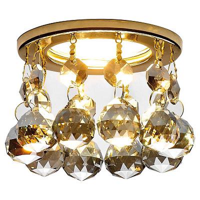 Встраиваемый светильник Ambrella light Crystal K2051C KF/G