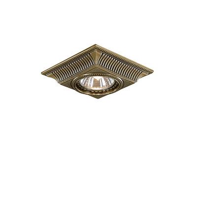 Встраиваемый светильник Reccagni Angelo SPOT 1084 bronzo