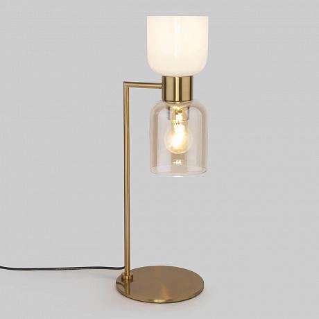 Настольная лампа Eurosvet Tandem 01084/2 латунь